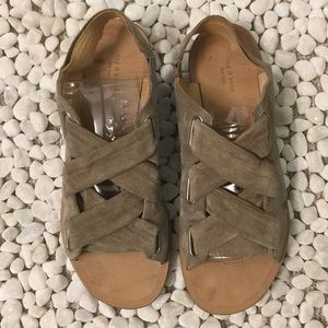 Rag and Bone Italian Made suede Sandals size 8.5